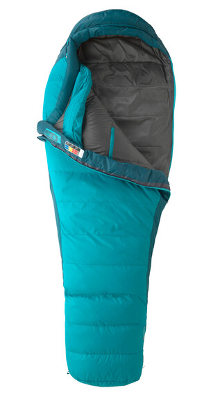 Marmot Celestrum Sleeping Bag Regular Women Sea Green/Sea Scape